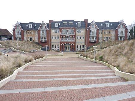 Homes, Hotel, Architecture, Building, Facade, Garden