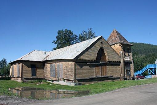 Dawson, Dawson City, Yukon, Building, Church
