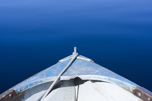 Boat, Water, Lake, Relaxation, Outdoors, Color, Canoe