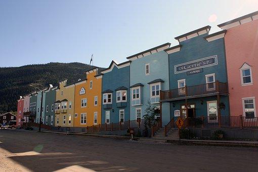 Dawson, Dawson City, Yukon, Building, Terraced Houses