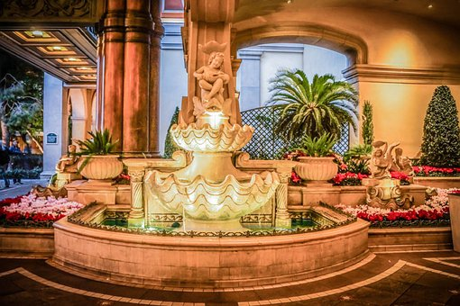 Belagio, Las Vegas, Nevada, Fountain, Resort, Hotel