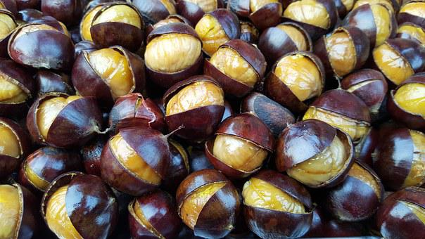 Roasted Chestnuts, Chesnuts, Fresh Chestnuts