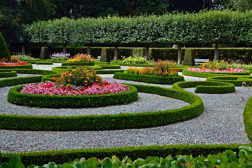 Garden, Park, Schloß Wolfsburg, Garden Decor, Applied