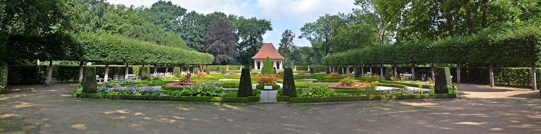 Garden, Panorama, Schloß Wolfsburg, Landscape, Green