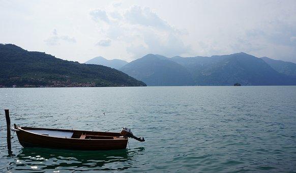 Boat, Small Boat, Lake, Iseo