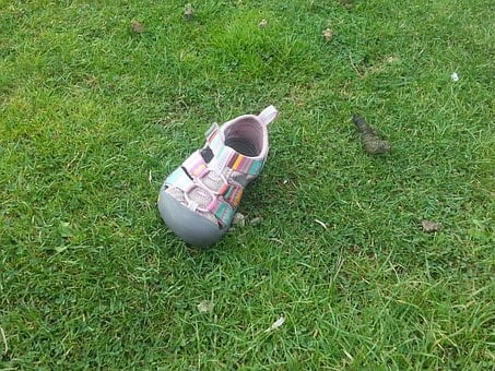 Lost Shoe, Pink Shoe, Childs Shoe, Girls Shoe