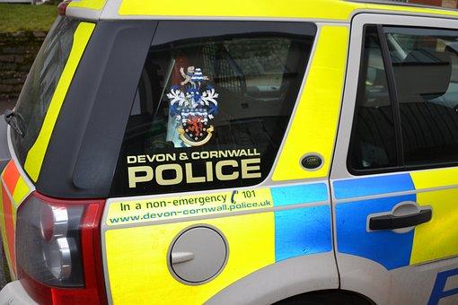 Police Car, Devon Cornwall Police, Marked Police Car