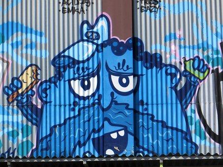 Munich, Street Art, Art Park East