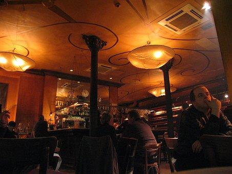 Bar, Ones, Pub, Cafe, Drink, Curfew, Evening, Lonely