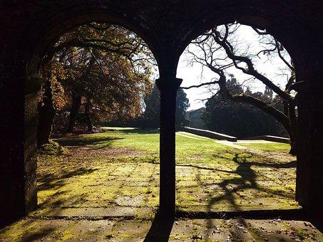 Santiago Of Compostela, Bonaval Park, Arches, Portal