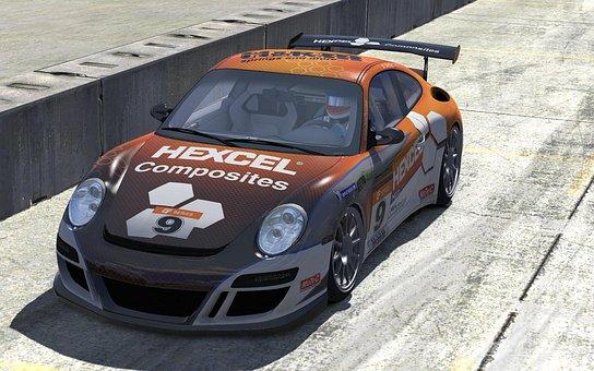 Porsche, Hexcel, Car, Race, Truck, Sports, Extreme