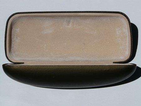 Glasses Case, Case, Sheath, Container, Storage, Oblong