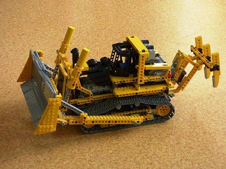 Lego, Pads, Toy, Fun, Toys, Spychaj, Machine Unit