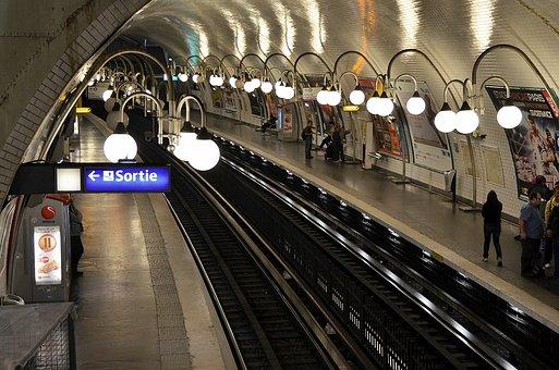 Subway, Transit, Metro, Train, Transportation, Travel