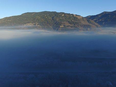 Fog, Air, Sun, Frost, Shadow, Nature, Dramatic, Sky