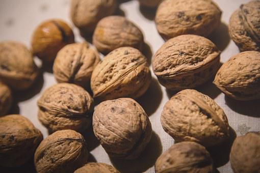 Walnut, Brown, Table, Nuts, Kitchen, Food, Nature