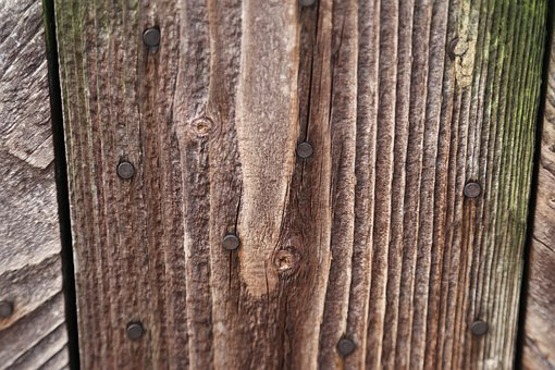 Wood Fence, Boards, Wall Boards, Nailed, Wood, Deleted
