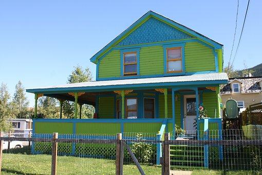 Dawson, Dawson City, Yukon, Building, Green House