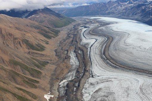 Kluane National Park, Glacier, Yukon, Canada, Landscape