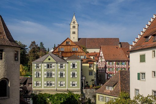 Old Town, Meersburg, Lake Constance, Architecture, City