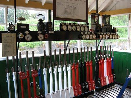 Railway, Signal, Signal Box, Beeching