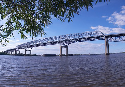 Pennsylvania, Bridge, Span, Spanning, Steel