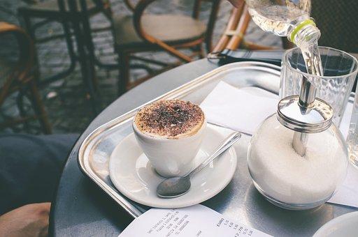 Coffee Shop, Espresso, Macchiato, Cup, Caffeine