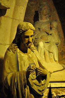 Christ, Jesus Christ, Statue, Church, Christian