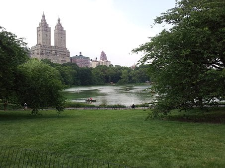 Central Park, Nyc, Architecture, Skyline, City
