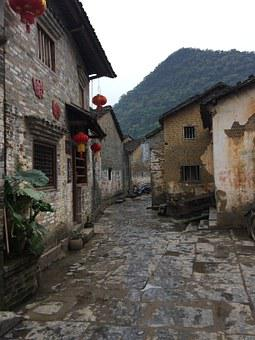 Huang Yao Ancient Town, Early In The Morning