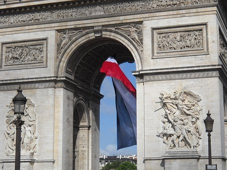 Arc De Triomphe, Paris, France, Europe, European