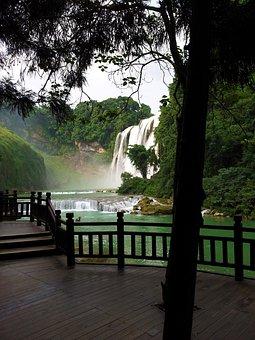 Asia, Guiyang, Huang Guo Shu, Yellow Tree Waterfall