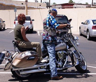 Harley, Davidson, Motorcycle, Motorbike, Technic