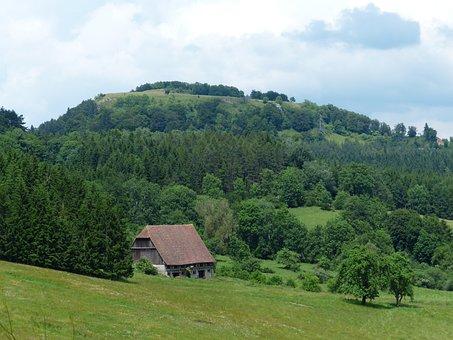 Punch, Summer Day, Idyll, Barn, Scheuer, Farm