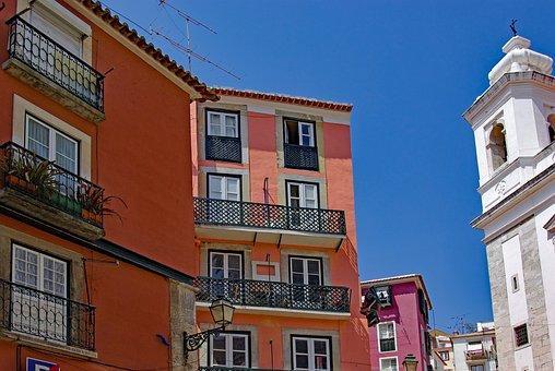 Portugal, Lisboa, Lisbon, Alfama, Street, Historic