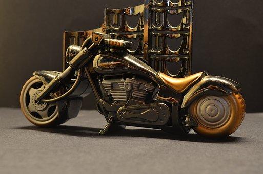 Toy, Motorcycle, Model, Harley Davidson, Transportation