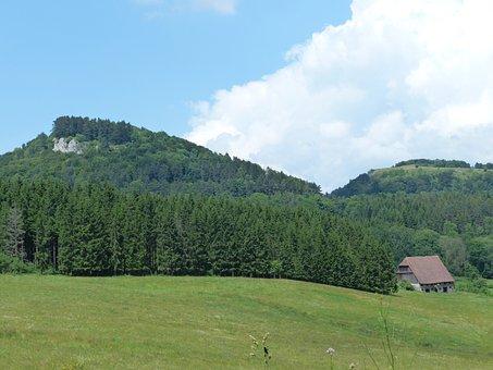 Wenzel Stone, Summer Day, Swabian Alb, Punch