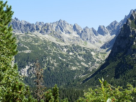 Mountains, High Tatras, Nature, Rocks, Slovak Republic