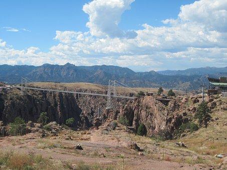 Royal Gorge Bridge Park, Colorado, Bridge, Suspension