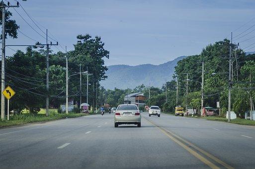 Road, Lane, Highway, Asphalt, Transportation, Transport