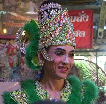 Ladyboy, Transvestite, Thai, Effeminate Man