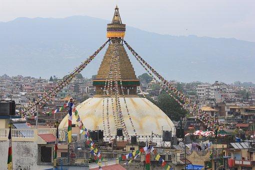 Nepal, Kathmandu, Boudhanath, Stupa, Sanctuary, Unesco