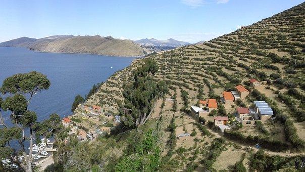 Bolivia, Cochabamba, Isle Del Sol, Architecture