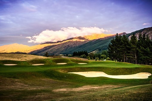 Hills Golf Course, New Zealand, Arrowtown, Queenstown