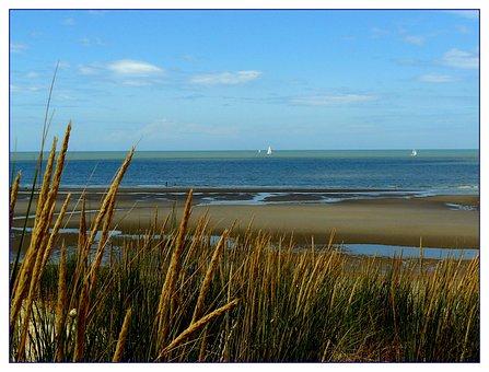 Beach, Sand, Boot, Sea, Water, Wave, Holiday, Lake, Sky