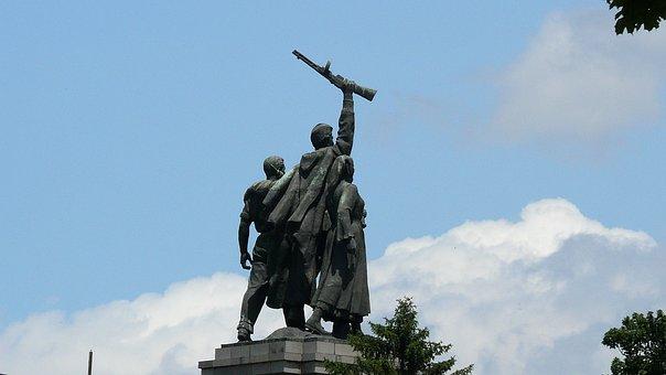 Monument Of The Soviet Army, Sofia, Bulgaria