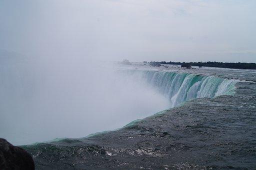 Niagara, Falls, Canada, Waterfall, Ontario