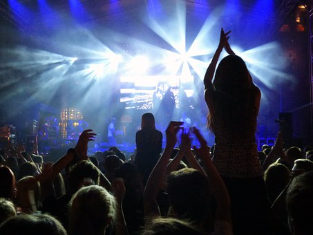 Concert, Event, Fan, A Big Fan, Scene, The Crowd