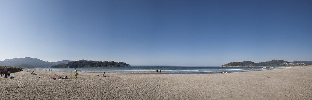 Ortigueira, Beach, Sea, Galicia, Ocean, Landscape
