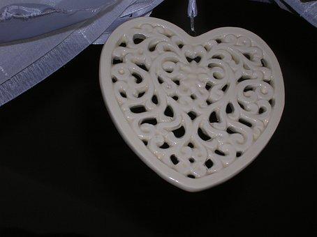 Heart, Love, Stone Heart, Openwork, Happiness